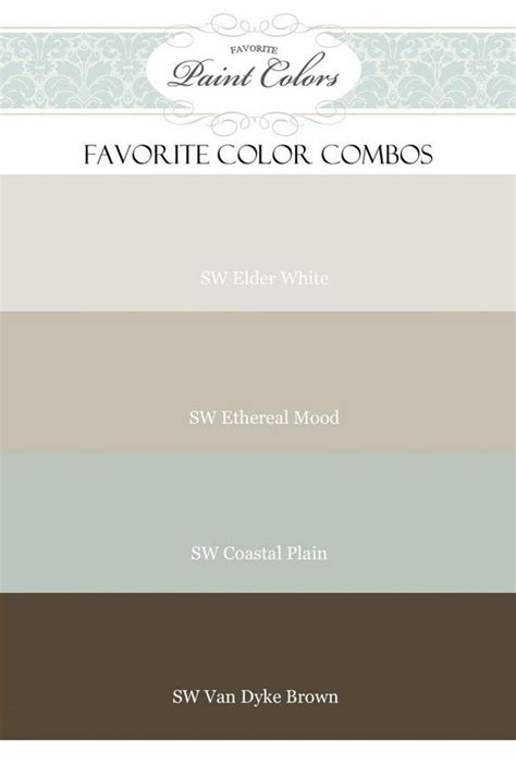 paint color and mood favorite paint colors elder white ethereal mood coastal plain van dyke brown sherwin