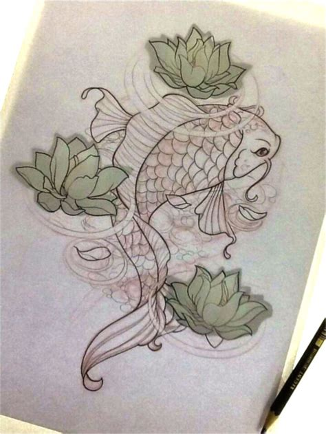 koi fish tattoo drawing design 25 best ideas about koi fish drawing on koi