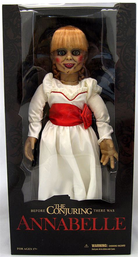 lorraine warren y annabelle doll annabelle doll the conjuring doll figure prop replica at