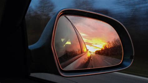 rear view sunsets rear view mirrors pariferal
