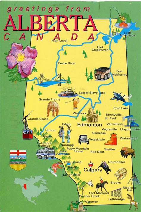 travel maps canada best 10 alberta canada ideas on