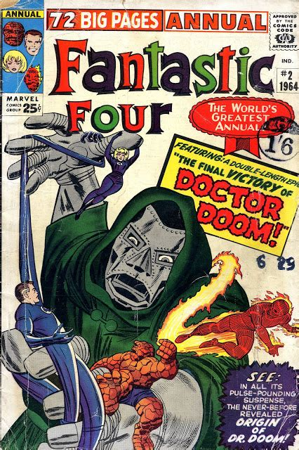 Töff Events by Crivens Comics Stuff The Fantastic Four S Annual Event