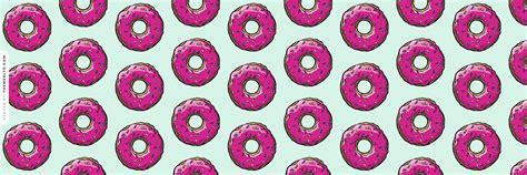themes ltd banner sprinkled pink doughnut ask fm background food wallpapers