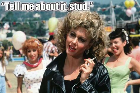 film quotes grease danny quot sandy quot sandy quot tell me about it stud