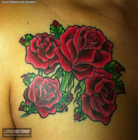 imagenes tatuajes rosas tatuaje de rosas flores