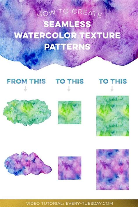 pattern watercolor photoshop create seamless watercolor patterns in photoshop
