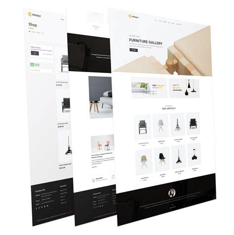 j2store themes primax j2store ecommerce furniture joomla template