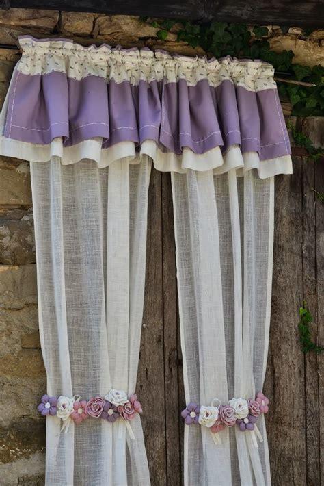 country curtains ls proven 231 al country tende in preziosissimo lino con inserti