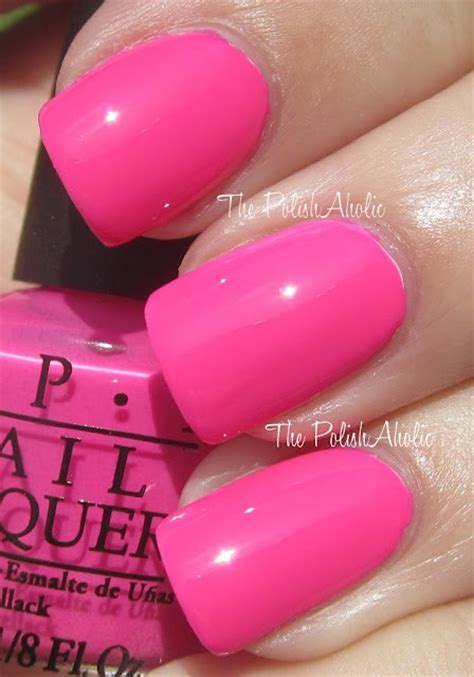 opi pink colors opi riotously pink want this color nails