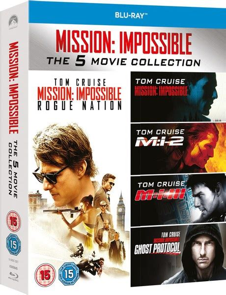 Mission Impossible 1 by Mission Impossible 1 5 Boxset Zavvi