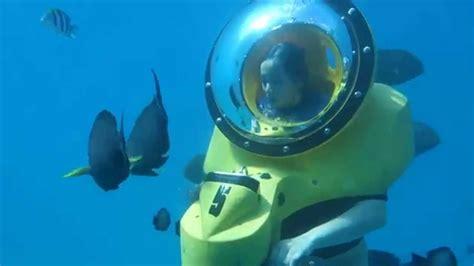 water scooter hawaii underwater scooter adventure in hawaii hd youtube