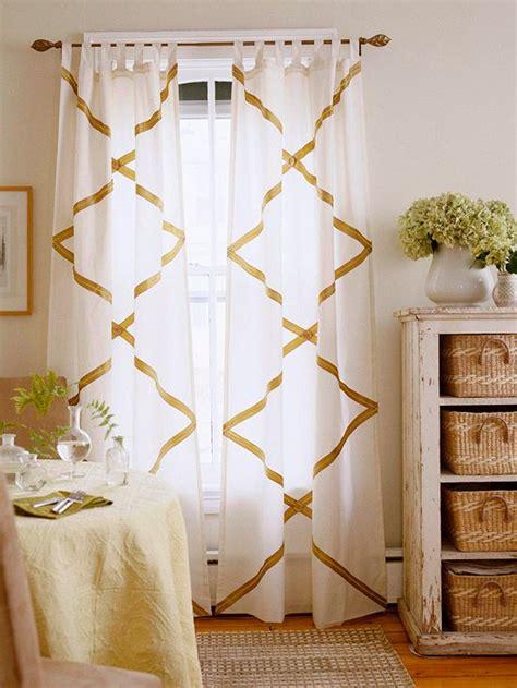 diy no sew curtains no sew diy curtains and shades