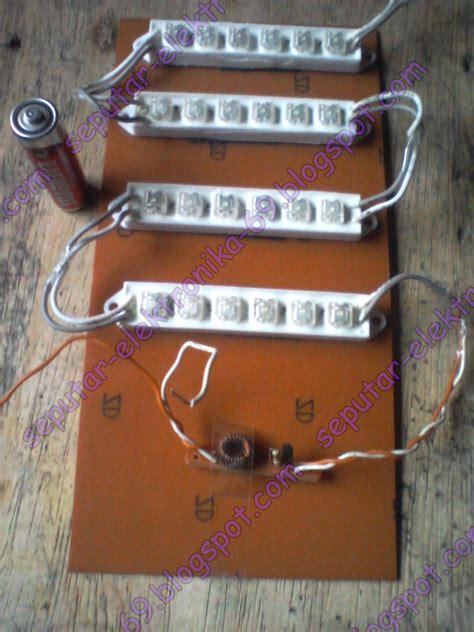 Aki Kering Buat Lu Emergency cara membuat alat hemat energi joule thief murah ulbe