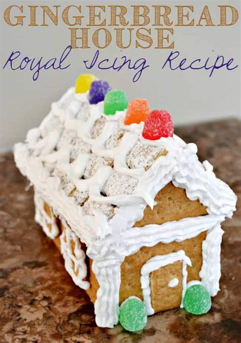 icing for gingerbread house gingerbread house royal icing recipe