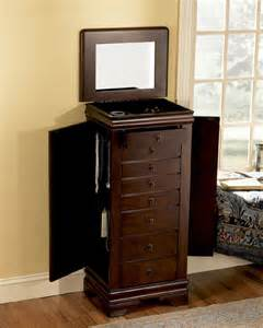 Jewelry Armoire Edmonton Louis Philippe Jewelry Armoire Bedroom Furniture By