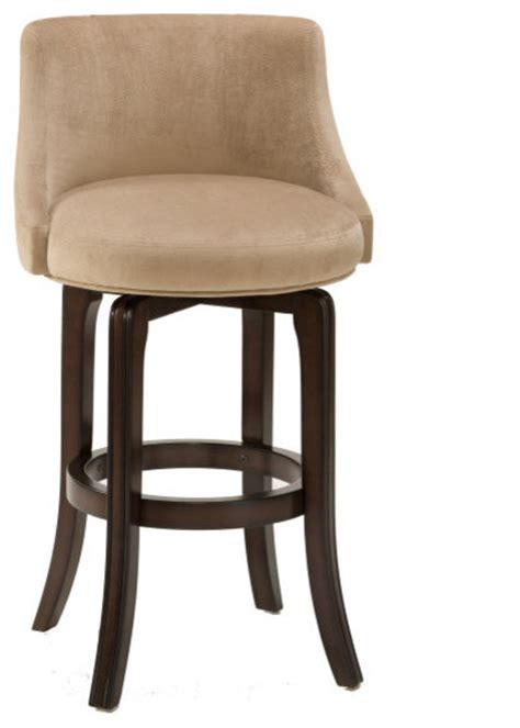 transitional counter stools hillsdale napa valley swivel 30 inch barstool in khaki