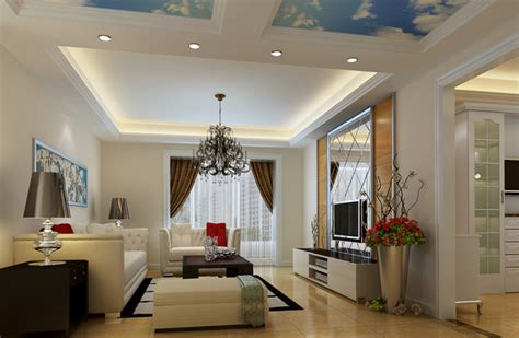 Rectangular Ceiling Design Beauteous Living Room With Modern Drop Ceiling Combined