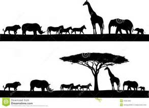 stock photos safari animal silhouette image 25901883