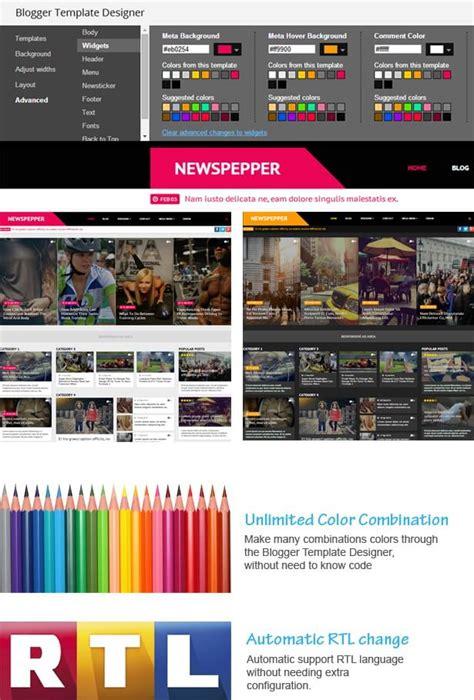 newspepper blogger template blogger templates 2018