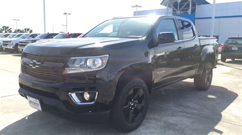 chevy colorado midnight edition 2017 chevrolet colorado midnight edition review