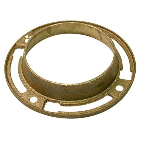 12 oz brass toilet floor flange danco