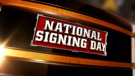 College Football National Letter Of Intent Signing Day Boarding School Students Sign 2014 Ncaa National Letters Of Intent Boarding School