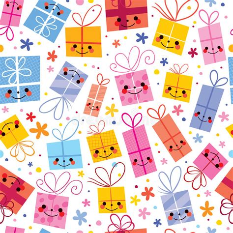gift paper pattern vector free cute gifts wrapping paper seamless pattern stock vector