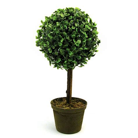 Potted Trees by Miniature Artificial Potted Topiary 33cm Artificial