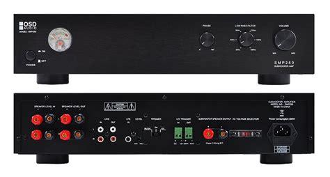 amazoncom osd audio smp  watt single channel mono