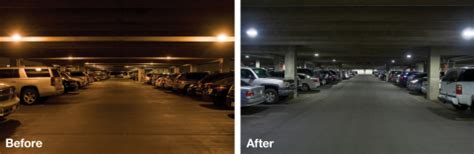 Edison Parking Garage by Eaton Helps Improve Lighting Efficiency And Performance At