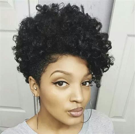 tapered sides with curls tapered natural hair african american tapered hairstyles