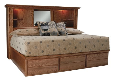 large king size bookcase headboard doherty house king