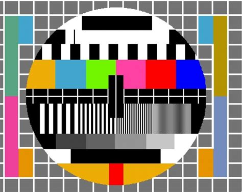 test pattern abc 10 best tv test images on pinterest televisions test