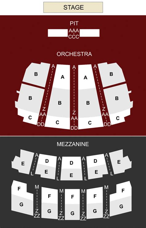 Peabody Opera House Seating by Peabody Opera House St Louis Mo Seating Chart Stage