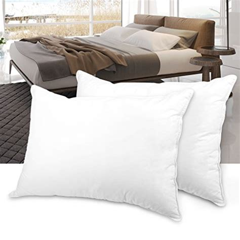 Best Soft Bed Pillows Langria Pack Of 2 Plush Soft Alternative Bed Pillows