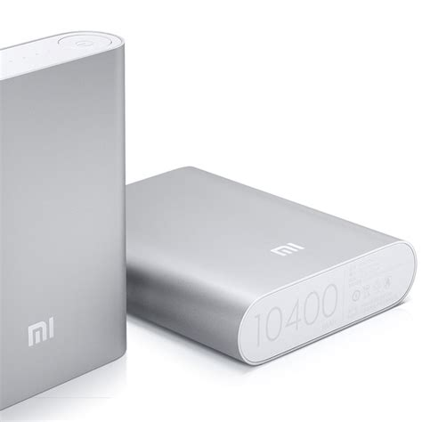 jual xiaomi original mi power bank 10400 mah silver indonesia original harga murah