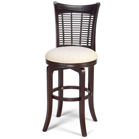 swivel wicker bar stools hillsdale bayberry 24 inch wicker swivel counter stool