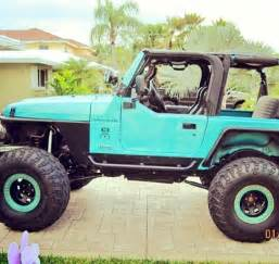 Teal Jeep Wrangler Pin By Dreisbach On Jeep
