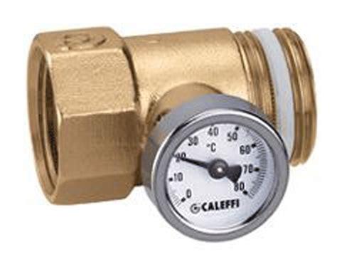Water Temperature Plumbing by Caleffi In Line Temperature 25mm 80 C