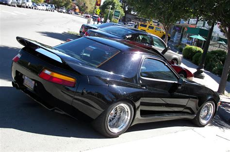widebody porsche 928 insomniac garage curiosity custom widebody 1986 porsche 928