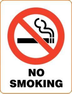 no smoking signs calgary irwin borough