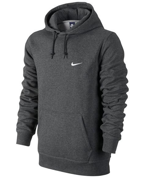 Jaket Hoodie Nike 7 lyst nike s classic fleece hoodie in orange for