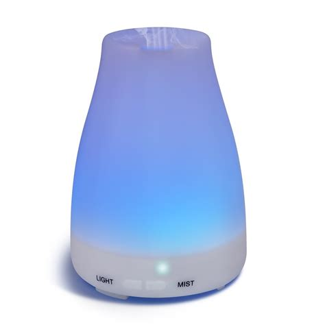 Aroma Diffuser D 008 pursonic 100 essential aromatherapy oils gift set 6 pack 10ml eucalyptus