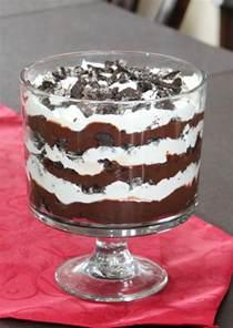 mint brownie hot fudge oreo trifle recipe dishmaps