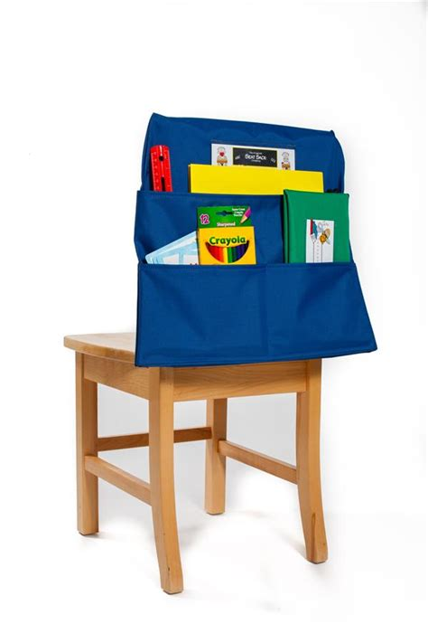 classroom chair pockets seat sack plus with pencil pouch large 17 inch classroom