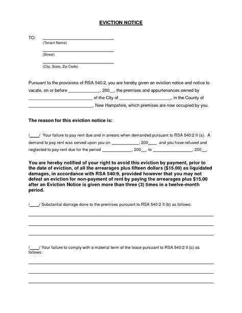 section 20 notice landlord and tenant act sle warning letter tenant not paying rent uk landlord