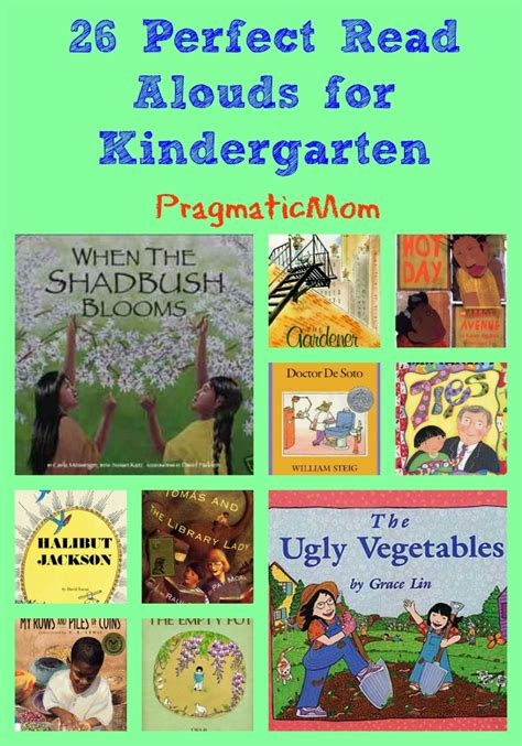 picture book read alouds for 5th grade 26 read alouds for kindergarten pragmaticmom