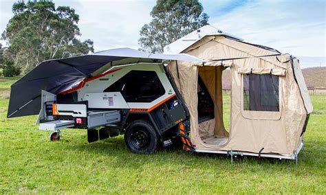 tvan camper trailer  original  road camper trailer