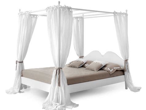 double canopy bed ansouis double bed by minacciolo
