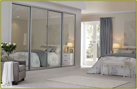 Mirrored Sliding Closet Doors For Bedrooms Seemly Featuringmirrored Front As Well Custom Sliding Closet Also Mirror Doors For Bedrooms